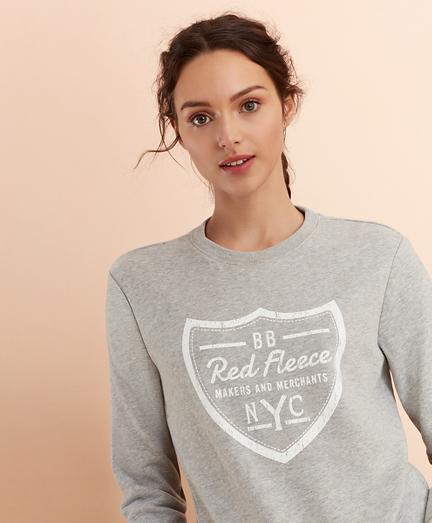 Logo Crest Sweatshirt