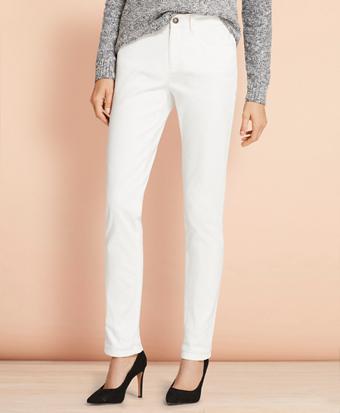 Stretch Cotton Twill Jeans
