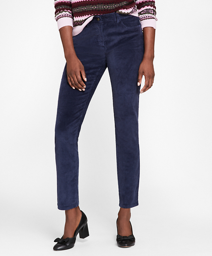 Stretch Cotton Corduroy Jeans