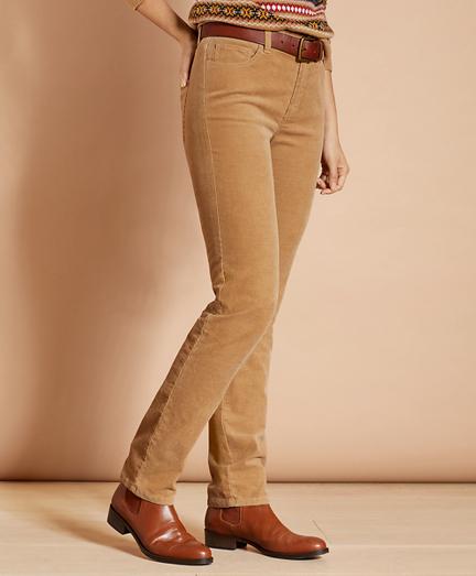 Stretch Corduroy Five-Pocket Pants
