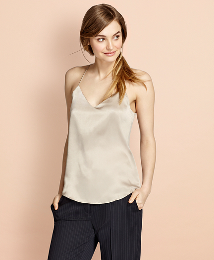 Silk Charmeuse Cami
