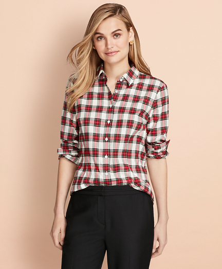 Tartan Cotton Flannel Shirt