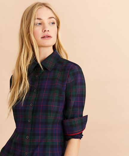 Tartan Cotton Twill Shirt