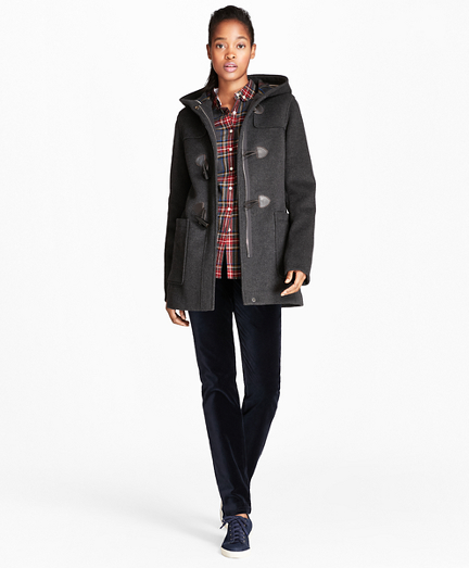 Double-Faced Wool-Blend Duffle Coat