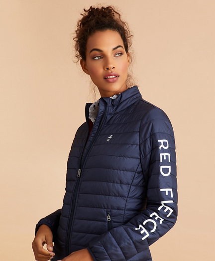Logo-Graphic Puffer Jacket