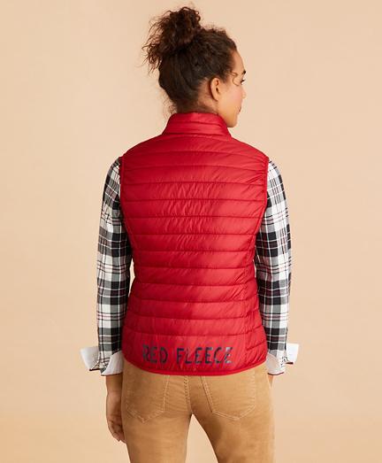 Logo-Graphic Puffer Vest