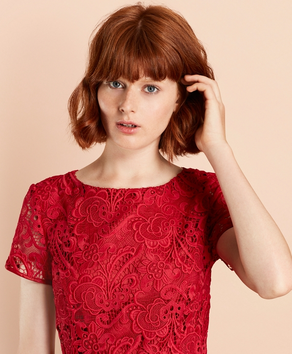 959b32f04d5e Floral Lace Dress - Brooks Brothers