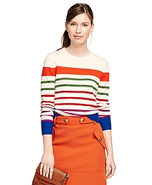 Merino Wool Multistripe Sweater