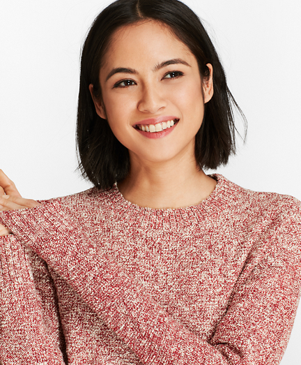 Shimmer Boucle Sweater