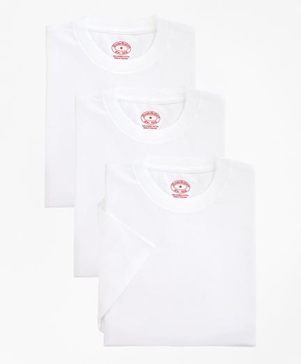Boys Cotton Crewneck Undershirt - Three Pack
