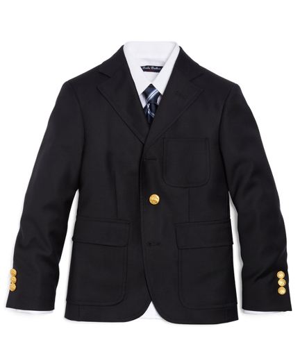 Boys Three-Button Prep Blazer