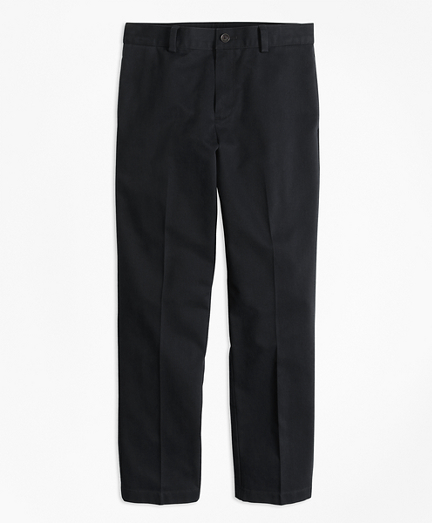 Boys Flat-Front Non-Iron Advantage Chino® Pants