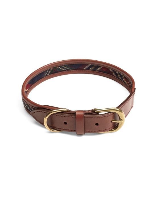 Signature Tartan Dog Collar Navy