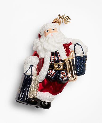 Signature Santa Claus Ornament
