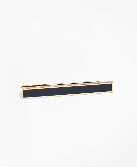 200th Anniversary Gold-Plated Sterling Silver Tie Bar Gold