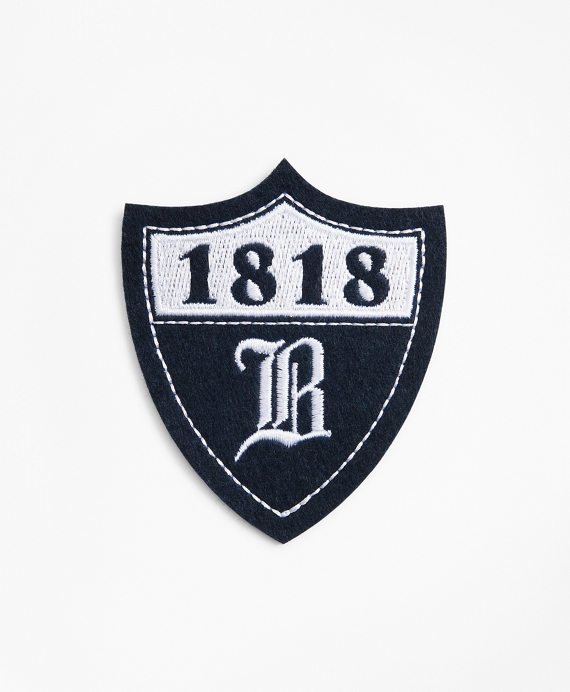 1818 Badge Patch Navy