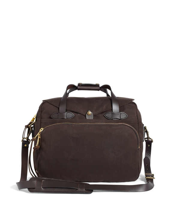 Filson® Twill Padded Computer Bag Brown