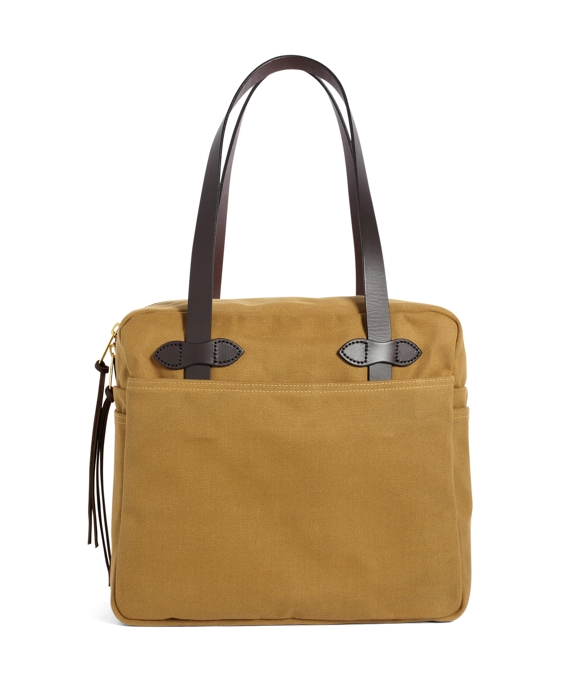 Filson® Medium Zippered Tote Bag Tan