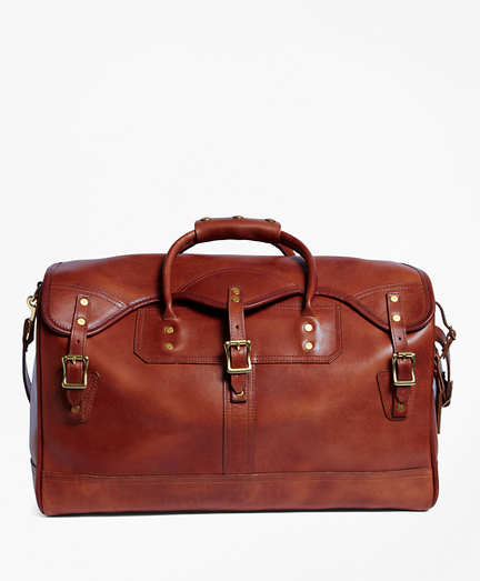 J.W. Hulme Leather Small Duffel Bag