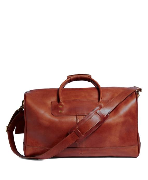 J W Hulme Leather Small Duffel Bag Brooks Brothers
