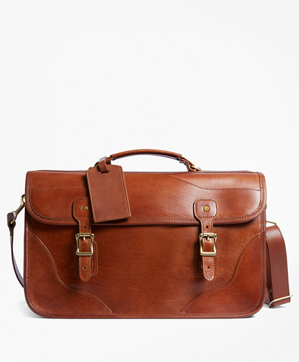 J.W. Hulme Leather Document Briefcase