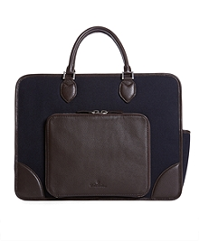 Flannel Tablet Briefcase