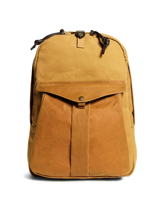 Exclusive for Brooks Brothers Filson® Twill Backpack Tan