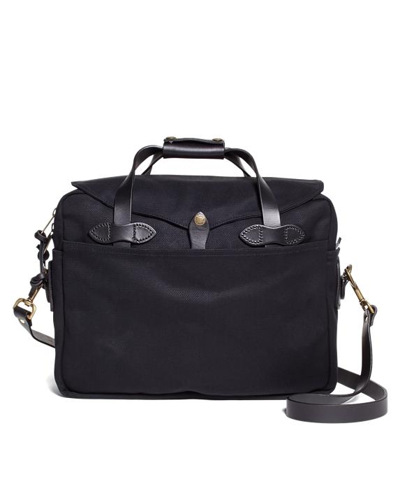 Filson Twill Briefcase Computer Bag Black