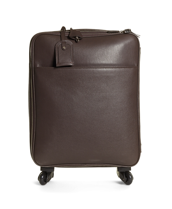 Pebble Leather Trolley Brown