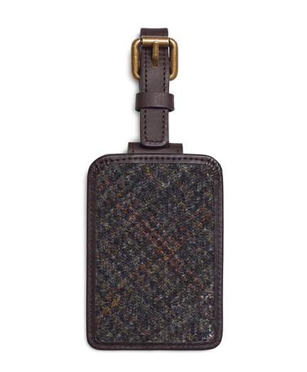 Harris Tweed Luggage Tag