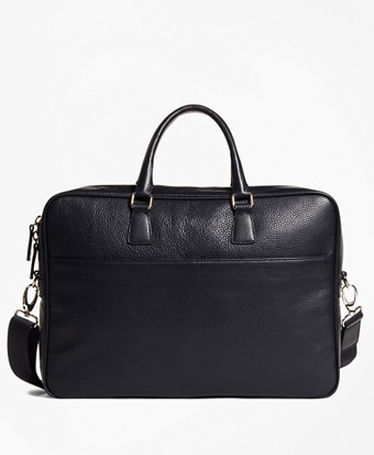 Pebble Leather Briefcase