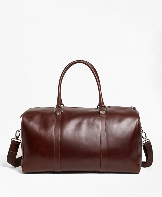 Soft Leather Duffle Brown