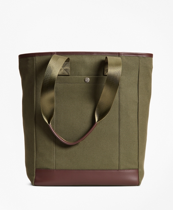 Canvas Tote Bag Green