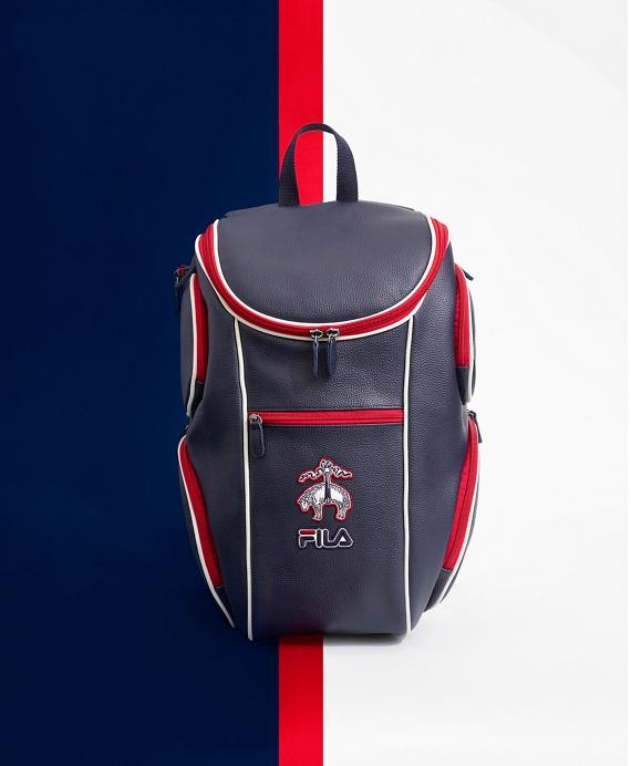 Brooks Brothers x FILA Advantage Backpack Navy