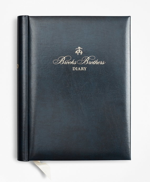 Brooks Brothers 2020 Desk Diary Navy