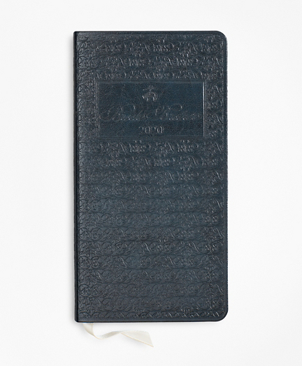 Brooks Brothers 2020 Embossed Pocket Diary