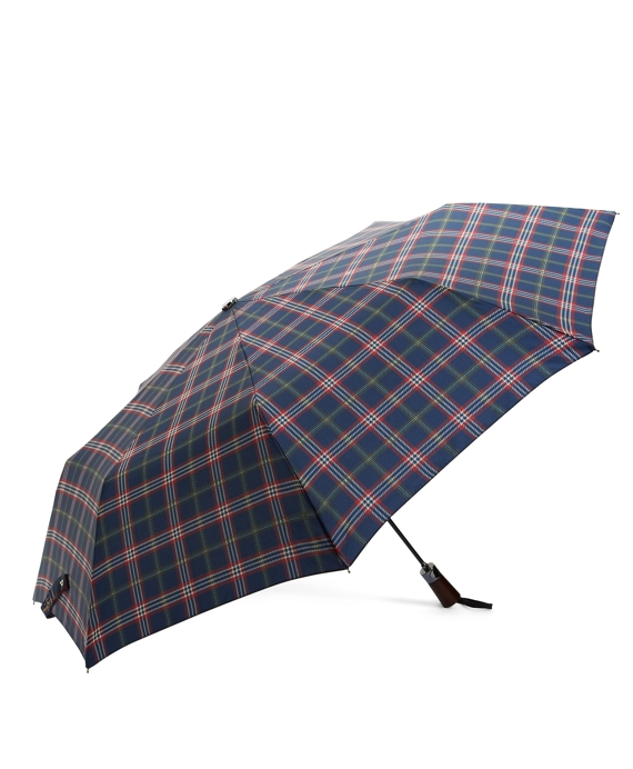 Signature Tartan Mini Umbrella Navy