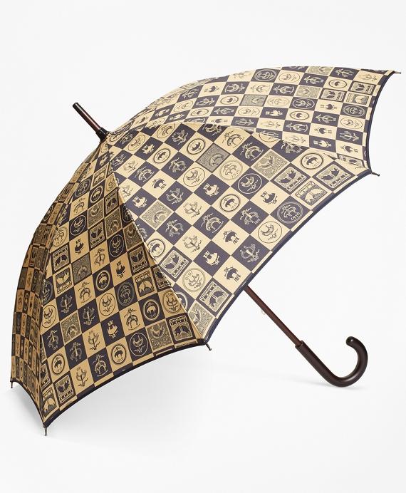 200th Anniversary Special-Edition Gold Stick Umbrella Navy