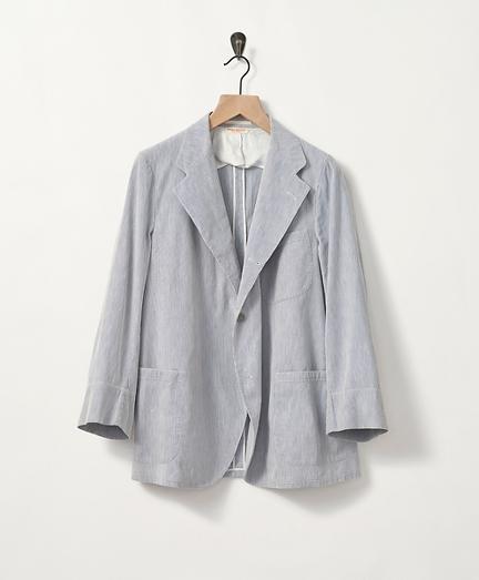 1940s Corded Cotton Sport Coat