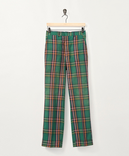 1970s Plaid Pants