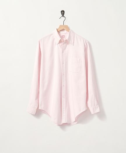 1970s Micro-University-Stripe Oxford Shirt