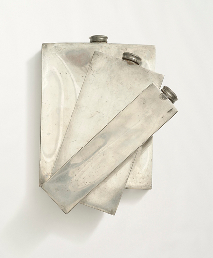 1930s Art Deco Flask Set