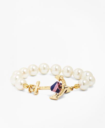Kiel James Patrick Glass Pearl Bracelet