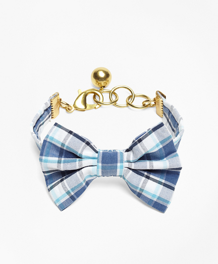 Kiel James Patrick Seersucker Plaid Bow Tie Bracelet