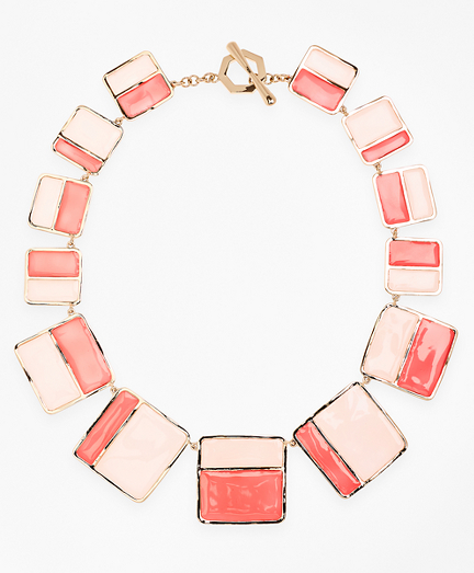 Plique-a-Jour Enamel Necklace