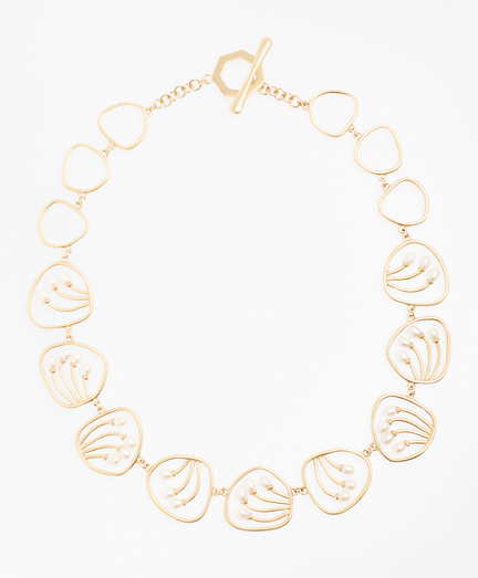 Freshwater Pearl Gold-Plated Necklace