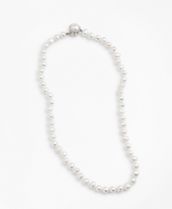 8mm Freshwater Pearl Strand Necklace