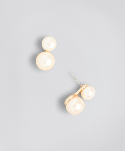 Ombre Freshwater Pearl Earrings