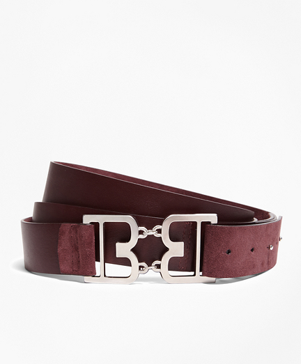 Suede Double-Wrap Belt