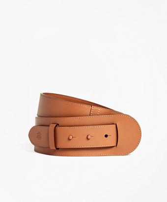 Leather Pin-Closure Belt